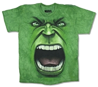 The Mountain Hulk Face Tie Dye Youth Tee