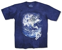 The Mountain Astronaut Tie Dye Youth Tee