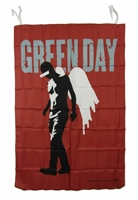 Green Day Fabric Poster Wall Flag