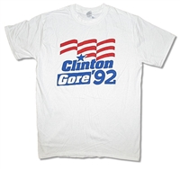 1992 Election Clinton/Gore Tee