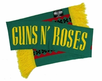 Guns N Roses Green Scarf