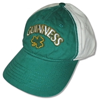 Guinness Clover Green & White Hat