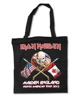 Iron Maiden 2012 North American Tour Tote Bag