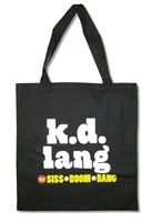 KD Lang Boom Bang Tote Bag