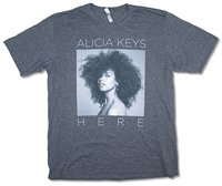 Alicia Keys B&W Photo Tee