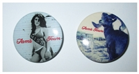 The Killers 2 Piece Button Set