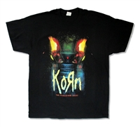 Korn Power Distressed 2014 Tour Tee (San Bernadino - The Woodlands)