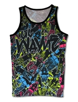 Lil Wayne Collage All Over Print Men's Tank Top