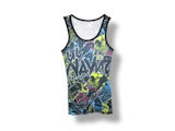 Lil Wayne Collage All Over Print Junior Tank Top