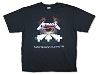Metallica Master Of Puppets No Back Tee