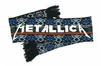 Metallica Christmas Trees Scarf