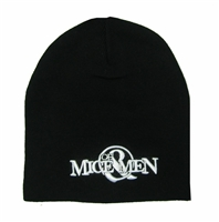 Of Mice & Men White Embroidered Logo Beanie