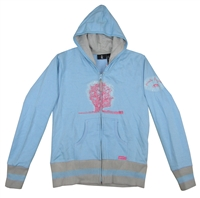 "Pink Floyd Glitter Tree Girl's Zip Up Hooded Fleece <BR><BR><font color=""red""><B>10% OFF!</B></font>"