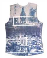 Paul McCartney London View All Over Print Sleeveless Tee