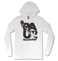 Paul McCartney Rise Up 30/1 Long Sleeve Hoodie (Non-Fleece)
