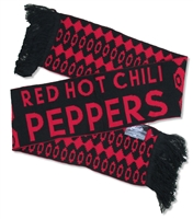 Red Hot Chili Peppers Red Logo Scarf