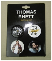 Thomas Rhett 4 Piece Button Set