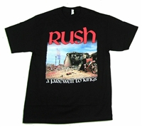 Rush A Farewell To Kings Tee