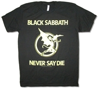 Black Sabbath Yellow Devil Tee