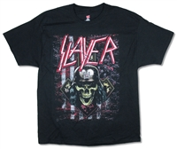 Slayer Scratched Flag 2018 Tour Tee