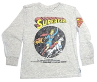 Supergirl Origins Trunk LTD Youth/Infant Long Sleeve Tee