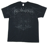 Three Days Grace Bat Skull All Over Print Tee