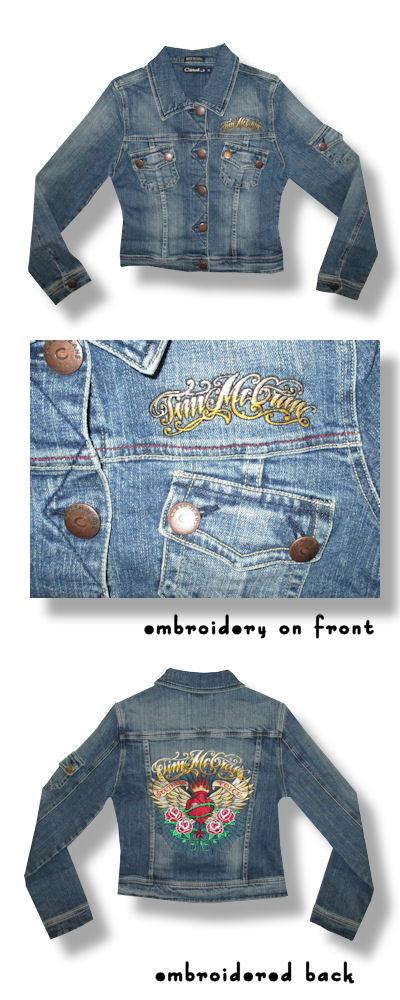 Tim McGraw Ladies Denim Jacket