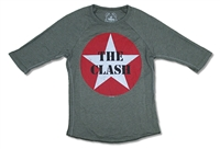 The Clash Circle Star Youth Long Sleeve Tee
