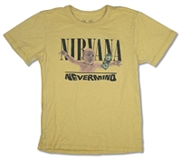 Nirvana Nevermind Faded Yellow Youth Tee