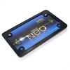 Neo Black Motorcycle License Plate Frame