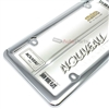 Plain Plastic ABS Chrome License Plate Tag Frame for Auto-Car-Truck