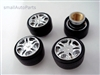 Chrome Wheel Tire Valve Stem Caps