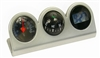 Digital Clock/Compass/Thermometer for Car-Truck-Bike-Scooter Interior Dash mount