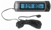 Universal Indoor/Outdoor Clock/Thermometer for Car-Truck-Bike-Scooter etc.