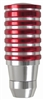 Universal Red Chrome Billet Shift Knob for Car-Truck-Hotrod Gear Transmission
