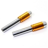 2 Chrome Gold Bullet Interior Door Lock Knobs Pins for Car-Truck-HotRod-Classic