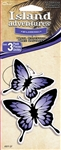 3 Purple Butterfly Wild Berry Hanging Tree Style Air Freshener for Car-Truck etc