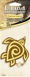 3 Yellow Turtle Vanilla Hanging Tree Style Air Fresheners for Car-Truck-Home etc