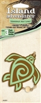 3 Green Turtle Coconut Key Lime Hanging Tree Style Air Fresheners for Car-Truck