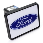"Ford Oval Logo Tow Hitch Cover Plug w/pin for Car-Truck-SUV 2"" Receiver"