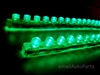 "Green 24CM 9.5"" PVC LED Light Strips"