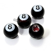 Pool 8 Ball Tire Valve Stem Caps
