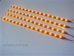 "Cool Yellow 12"" 1210 LED Light Strips"