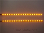 "Yellow 12"" SMD LED Light Strips"