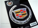 Cadillac Chrome Vinyl Stickers