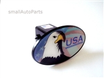 USA American Eagle Flag Tow Hitch Cover