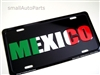 Mexico Aluminum License Plate