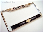 Chevrolet Chrome License Plate Frame