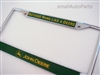 John Deere Chrome License Plate Frame