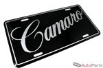 Chevy Camaro Aluminum License Plate